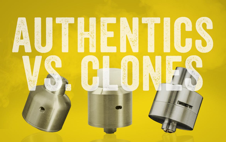 Perbedaan Atomizer Authentic dengan Clone